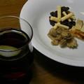 赤ワインと「ラミ・デュ・ヴァン」3種の盛り合わせ