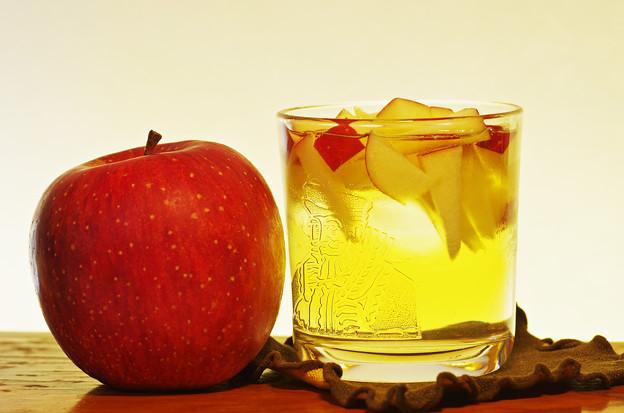 シードル&細切りリンゴ