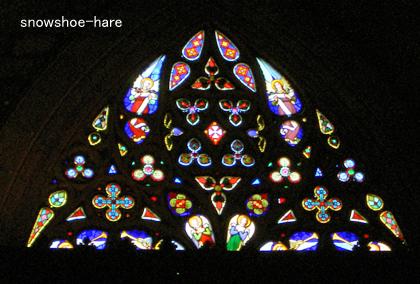 大聖堂のステンドグラス(ごく一部)