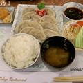 Photos: 餃子定食