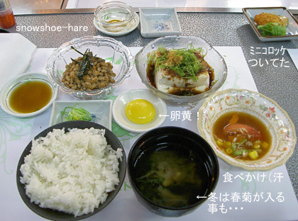 納豆・豆腐定食