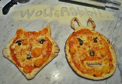 ピザがかわいい♪