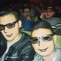 Photos: 映画館内で3Dメガネな皆さん