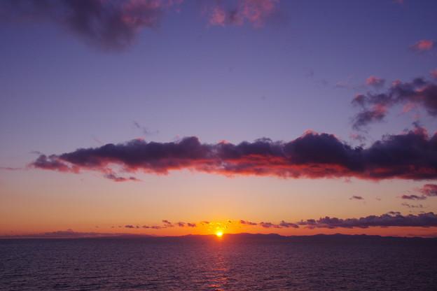 津軽海峡の朝
