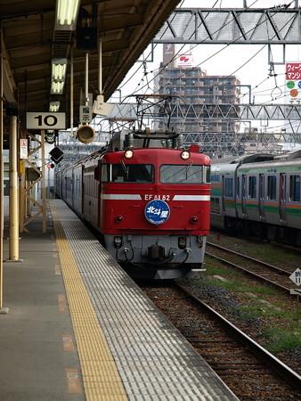 EF81+24系客車 北斗星(宇都宮駅)2