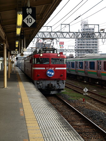 EF81+24系客車 北斗星(宇都宮駅)4