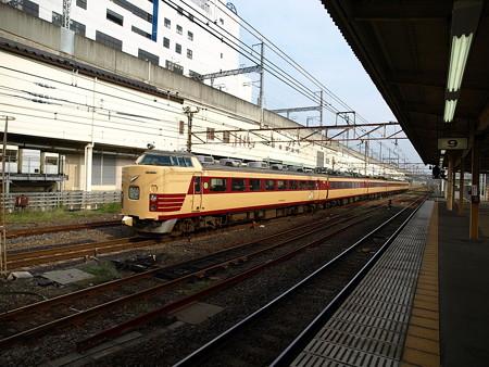 485系快速フェアーウェイ(宇都宮駅)7