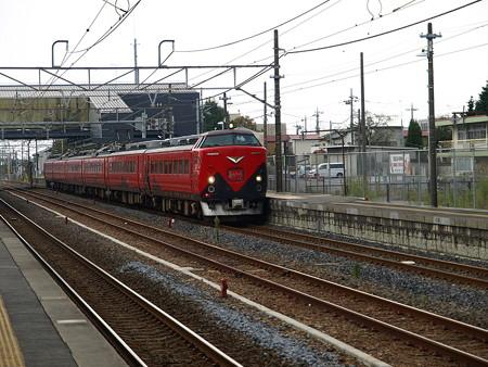 485系特急あいづ号(宝積寺駅)1