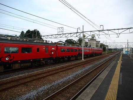485系特急あいづ号(宝積寺駅)7