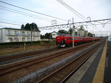 485系特急あいづ号(宝積寺駅)17