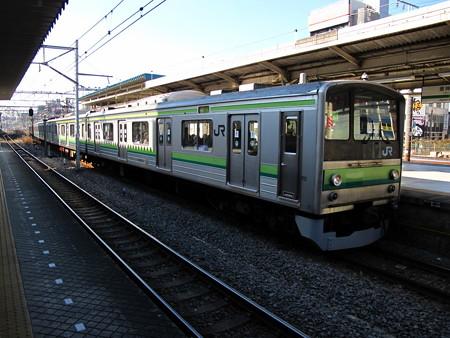 205系横浜線(東神奈川駅)1