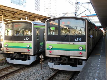 205系横浜線(東神奈川駅)3