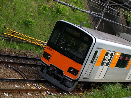 東武50000系(つくし野駅付近)1