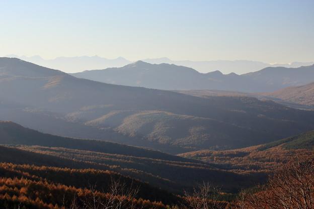 白樺高原夕日が丘の風景