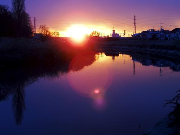 Photos: 我が町の夜明け