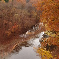 写真: 渡瀬渓谷の晩秋