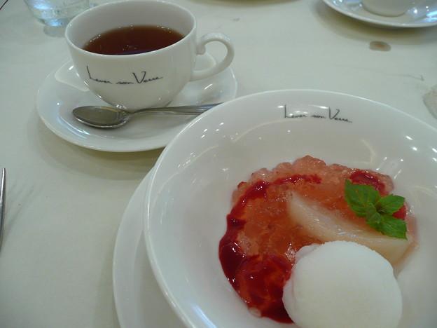 ルヴェ・ソン ヴェールのデザート2