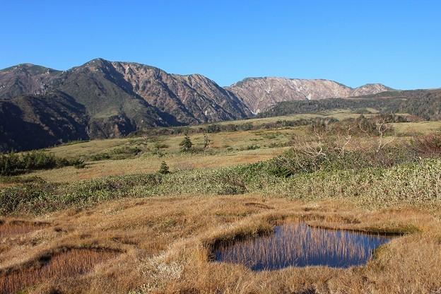 ガキ田と大日岳