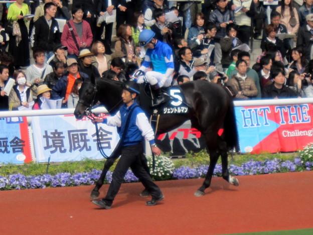ジェントルマンと戸崎圭太騎手