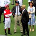 横山典弘騎手と須貝調教師