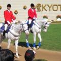 Photos: 誘導馬 シロベエ&ホワイトベッセル