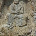Photos: 韓国慶州南山で最も有名な神仙庵磨崖菩薩半跏像Famous Bodhis-attva