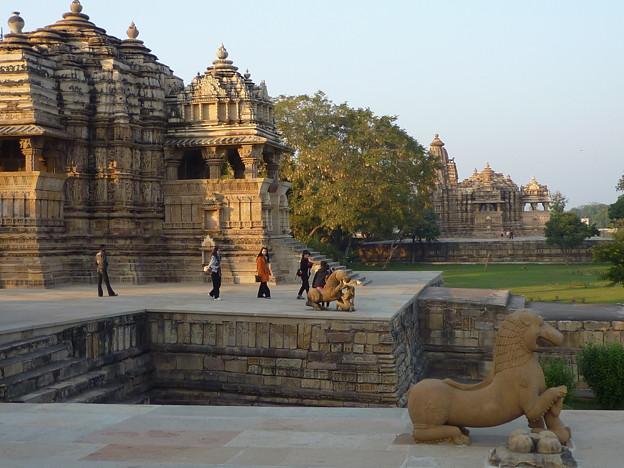西群寺院カジュラーホー View of Western Group of Temples