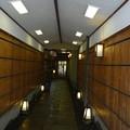「萬重」の石畳道  Typical Kyoto machiya: