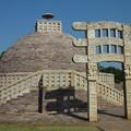 Photos: サーンチー第3塔 Stupa No.3 & the reserved torana
