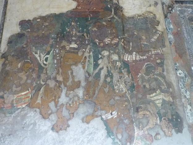 アジャンター第1窟壁画Mural,Ajanta cave
