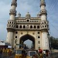 Photos: タバコの絵柄 街のシンボル  Global icon of Hyderabad