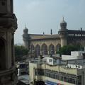 メッカ・マスジッド A view of Mecca Masjid from Char Minar