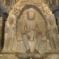 """第10窟""""大工の石窟"""" 仏陀 Buddha in """"Carpenter's"""" cave"""