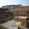 Photos: アンベール城中庭 Baradari pavilion at Man Singh I Palace Sq-uare