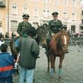 Photos: キトの騎馬警官、エクアドル Mounted police,Ecuador