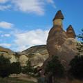 青空キノコはトルコのキノコ Mushrooms against the blue sky