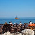 写真: 真っ青なトリエステ湾 Gulf of Trieste