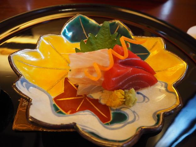 ミシュラン☆ 北白川「中善」刺身 Japanese Cuisine at Nakazen