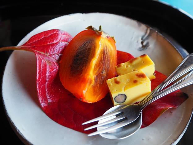 会席料理「収穫の喜び」水物 Japanese Cuisine at Sunainosa-to