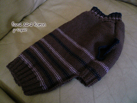 くーかいのための手編みセーター 5