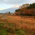 12月2日富士宮からの夕方前富士山           ~雲に隠れたり、出たりしてましたね~ 今日もお疲れ様でした(^ ^)