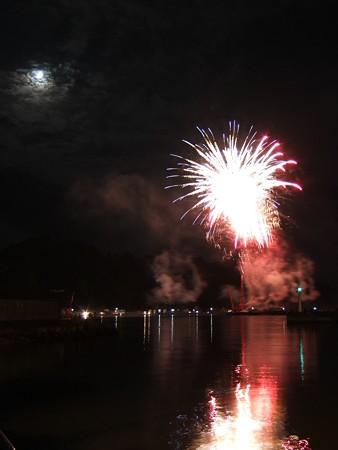 宇和島湾海上打ち上げ花火05