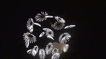 宇和島湾海上打ち上げ花火24