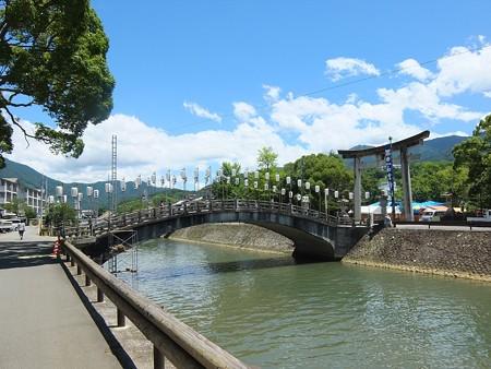 和霊神社01 須賀川と太鼓橋