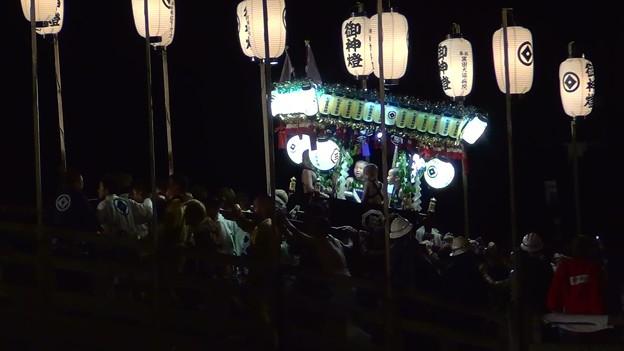 和霊大祭2015 走り込み11 太鼓橋の掛け合い2
