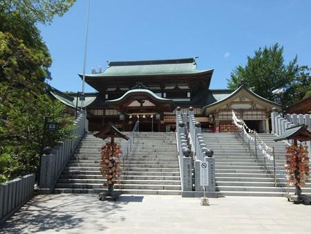 椿神社07 拝殿