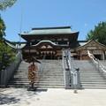 写真: 椿神社07 拝殿