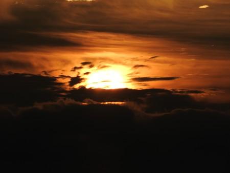 駿河湾の朝日24