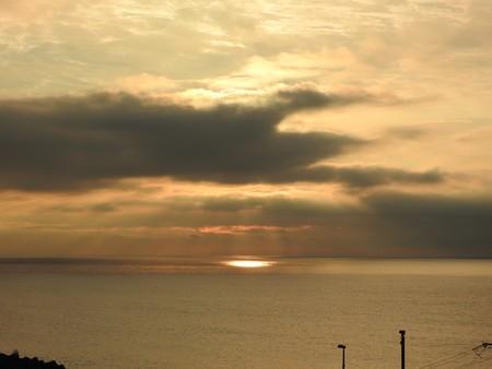 駿河湾の朝日26 スポットライト