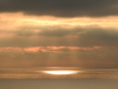 駿河湾の朝日27 スポットライト